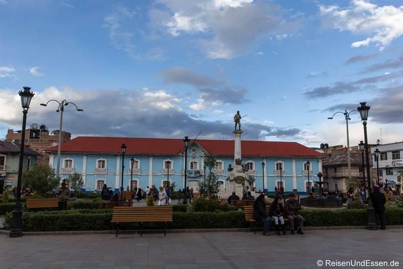 Parque Pino in Puno