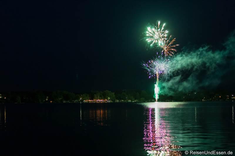 Feuerwerk am Wörthsee