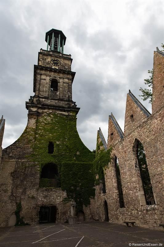 Aegidienkirche - Station 7 beim Roten Faden