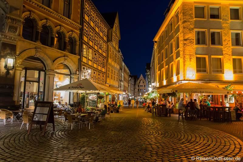 Altstadt von Hannover bei Nacht