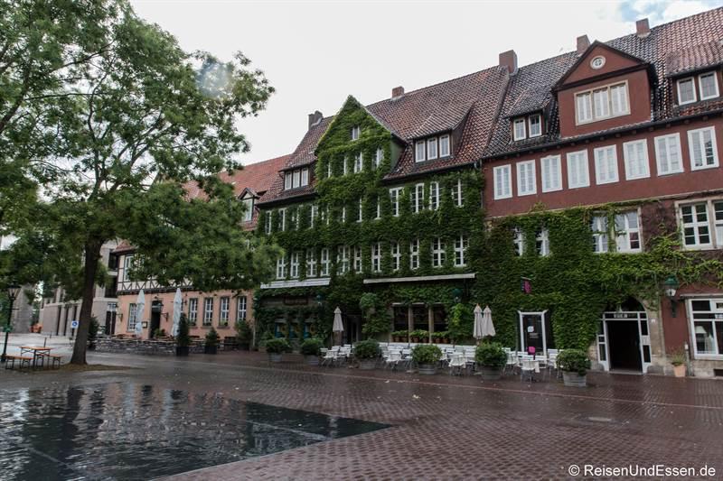 Ballhofplatz in der Altstadt von Hannover