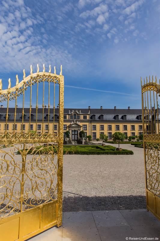 Goldenes Tor in den Herrenhäuser Gärten