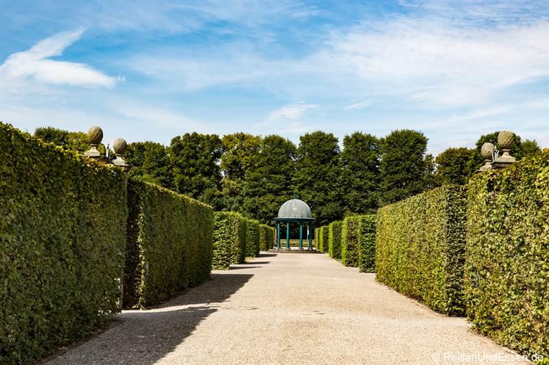 Pavillon in den Herrenhäuser Gärten