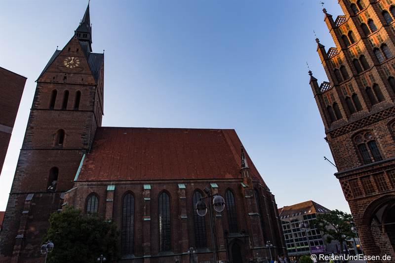 Marktkirche - Station 30 beim Roten Faden in Hannover