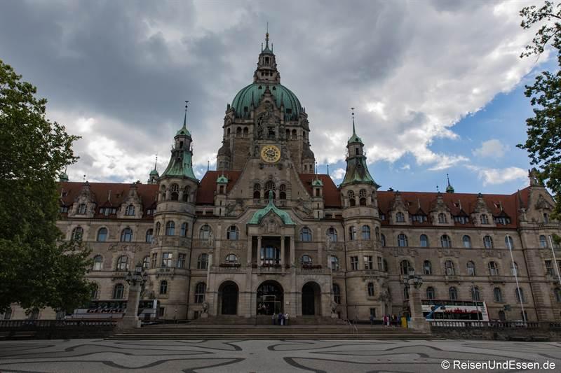 Neues Rathaus - Station 11 beim Roten Faden in Hannover