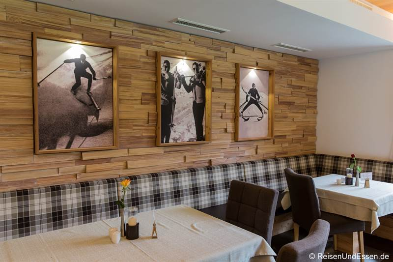 Restaurant im Hotel Marten in Hinterglemm