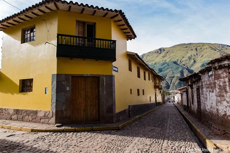 Gasse in Andahuailillas