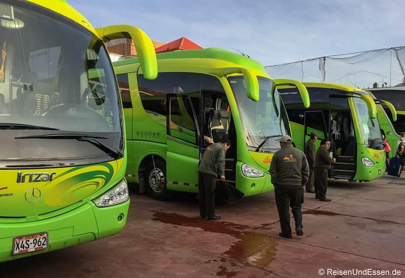 Busse von Tourismo Mer