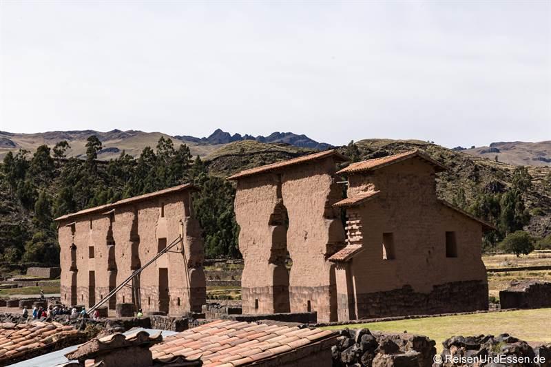 Ausgrabung der Inka in Raqchi