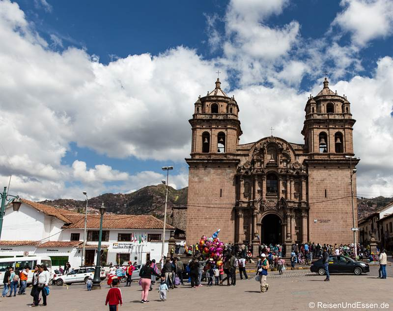 Kirche San Pedro - Sehenswürdigkeiten in Cusco