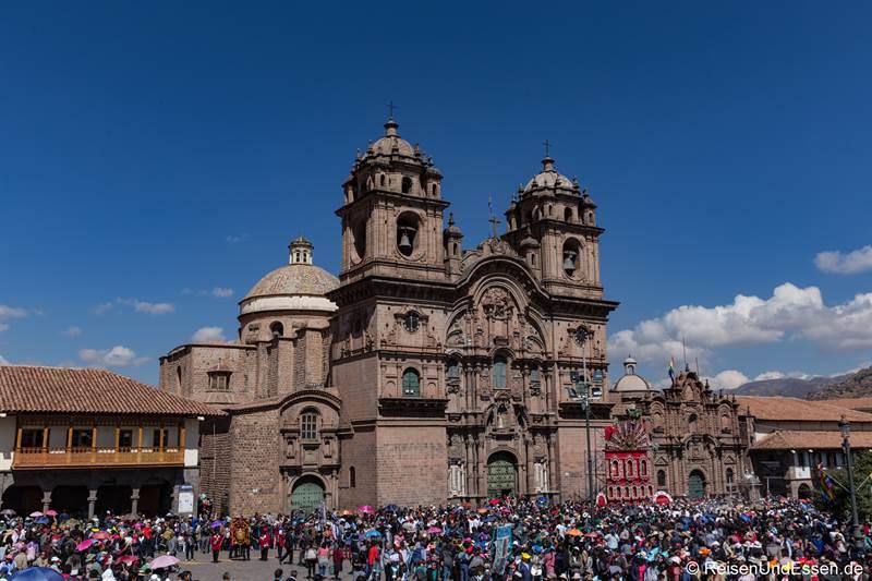 Kirche La Compania de Jesus in Cusco