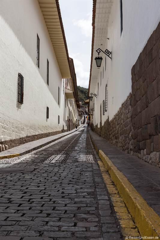 Schmale Strasse nach San Blas