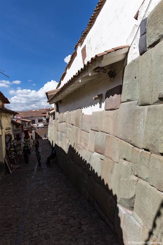 Strasse der Inka in Cusco
