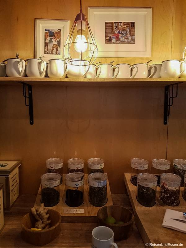 Angebot an Tee im Mercure Stuttgart