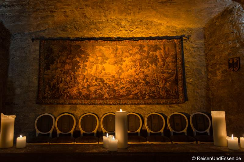 Wandteppich im Wappensaal vom Maritim Hotel Fulda