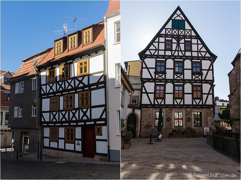 Gasse und Fachwerkhaus in Fulda