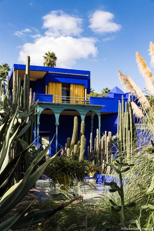 Haus von Yves Saint Laurent im Jardin Majorelle in Marrakesch