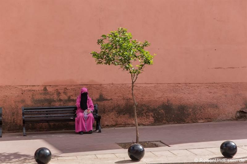 Muslimin in Marrakesch