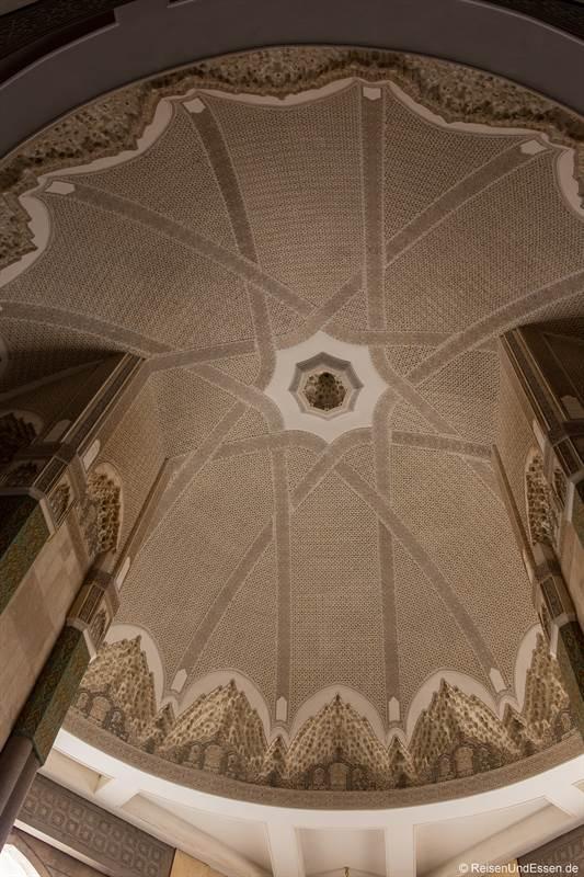 Kuppel in der Hassan II Moschee