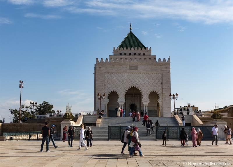 Mausoleum von Mohammed V. in Rabat