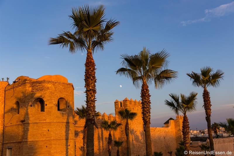 Stadtmauer um die Medina in Rabat