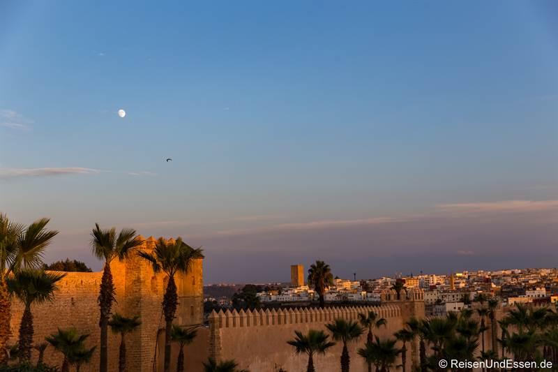Stadtmauer um die Medina - Sehenswürdigkeiten in Rabat