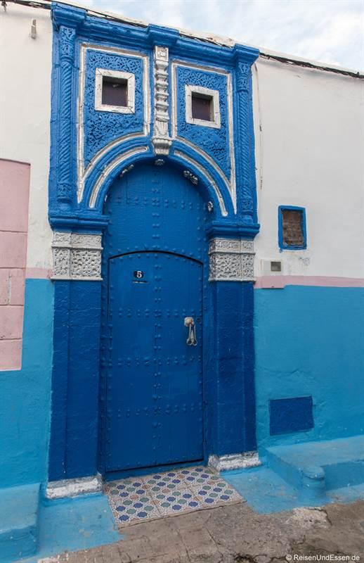 Tür in die Medina von Rabat
