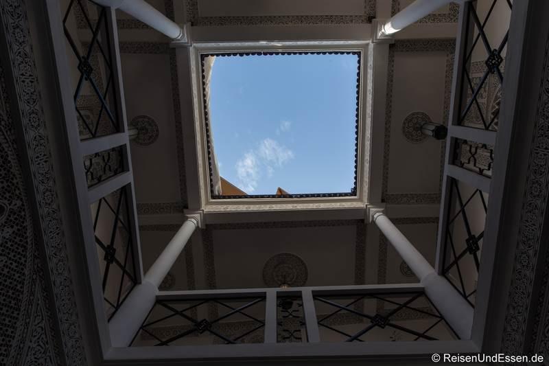 Innenhof im Riad Dar Soufa in Rabat
