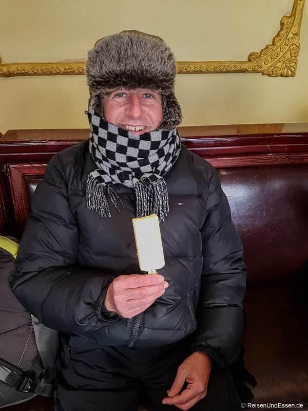 Eis am Stiel in Harbin
