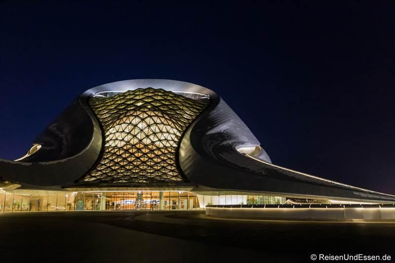 Oper in Harbin bei Nacht