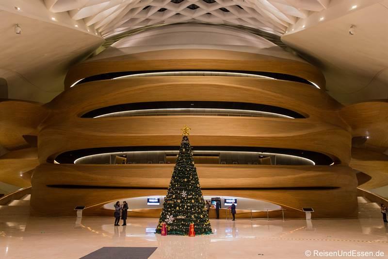 Eingangsbereich der Oper in Harbin