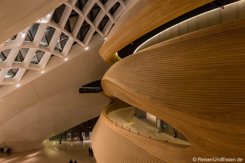 Innenbereich der Oper in Harbin