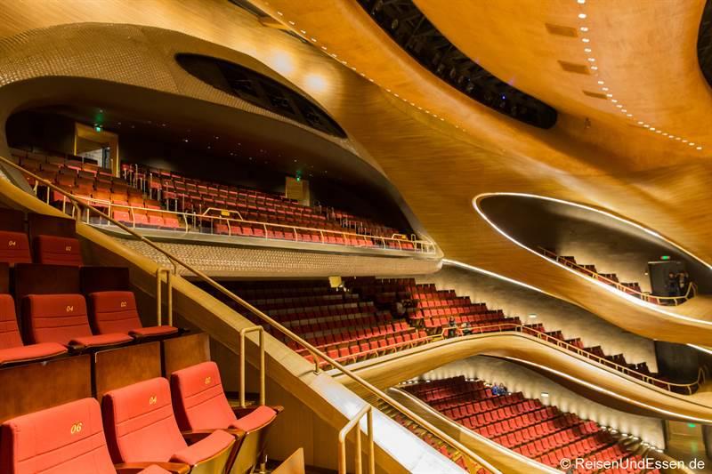 Sitze in der Oper in Harbin