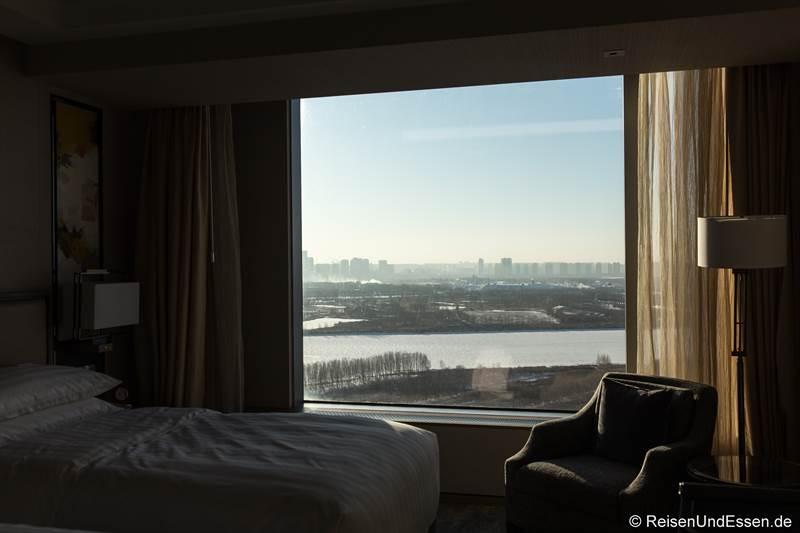 Deluxe-Zimmer mit Flussblick im Shangri-La Hotel