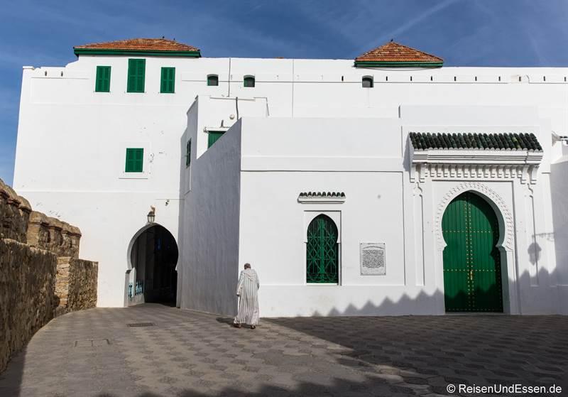 Haus und Stadtmauer in Asilah