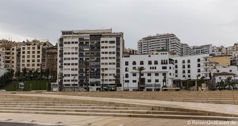 Modernes Tanger an der Avenue Mohammed V