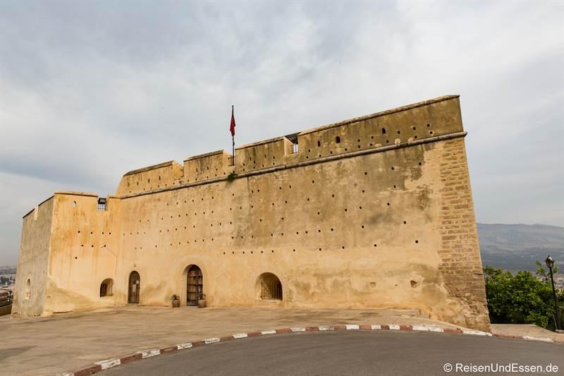Zitadelle Borj Sud oberhalb der Medina von Fes