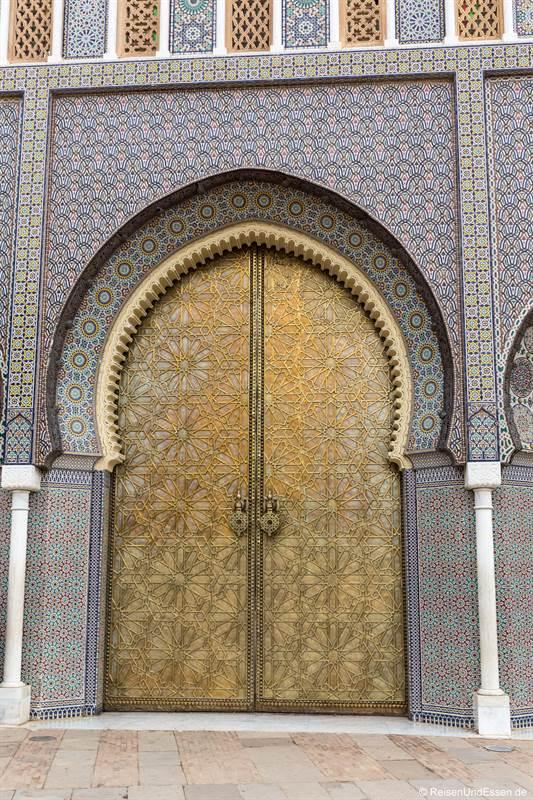 Tor zum Palast des Königs in Fes - Sehenswürdigkeiten in Fes