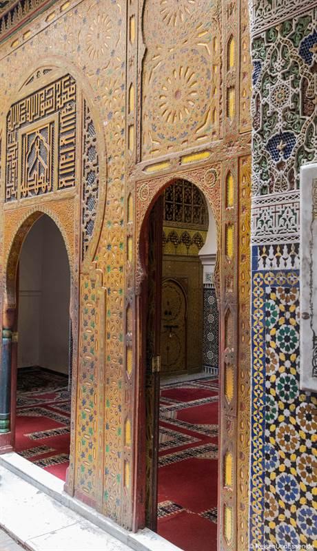 Zugang zum Mausoleum von Moulay Idriss