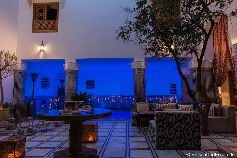 Lobby im Riad Amor in Fes