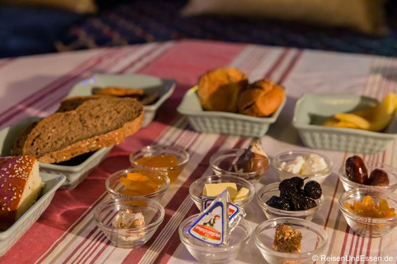 Frühstück im Riad Amor in Fes