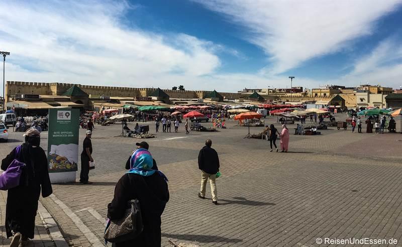 Platz el-Hedim in Meknes