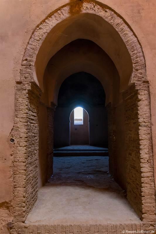 Zugang im Speichergebäude Heri es-Souani