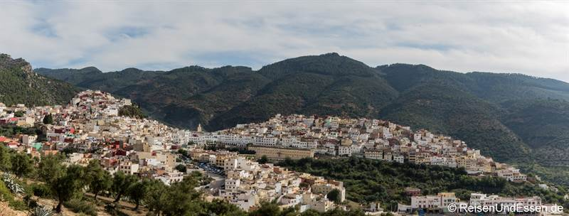 Panorama von Moulay Idriss