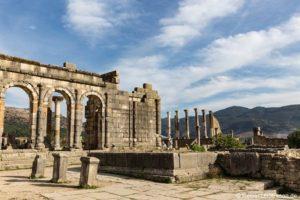 Volubilis – Antike Ausgrabungsstätte der Römer in Marokko