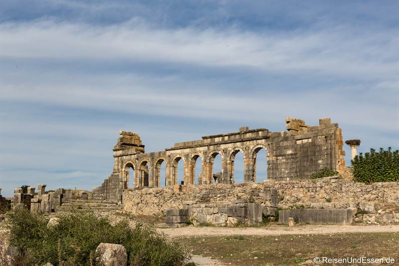 Basilika in Volubilis