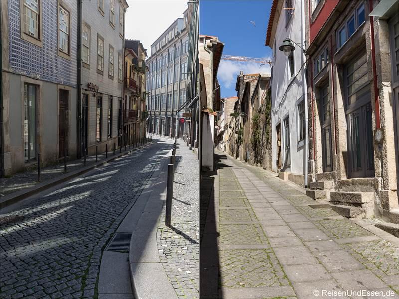 Gassen in der Altstadt von Porto
