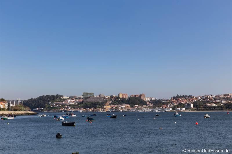 Foz - Mündung des Douro in den Atlantik