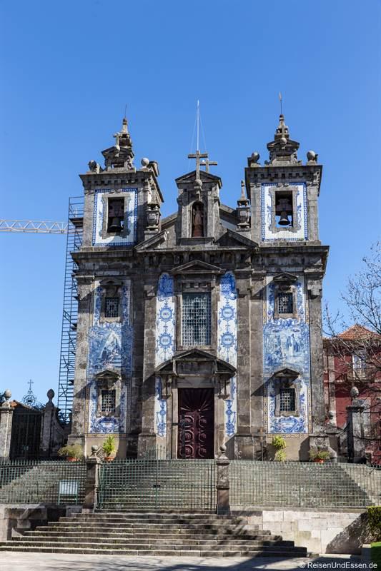 Kirche Santo Ildefonso in Porto