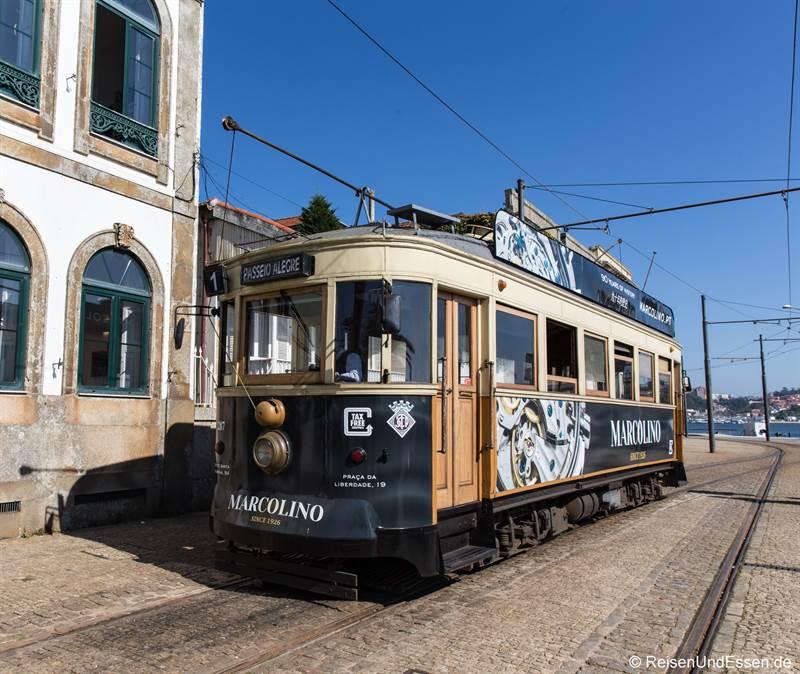Straßenbahn - Sehenswürdigkeiten in Porto